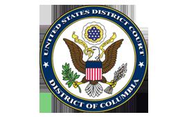 District court logo