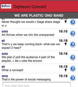 Orpheum concert