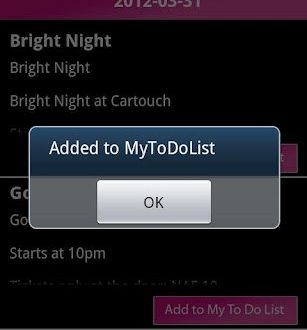curacao-to-go-for-android-added-to-do-list