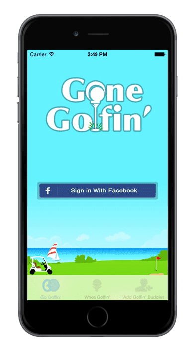 iPhone-Application-Gone-Golfin
