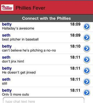 connect with the phillies