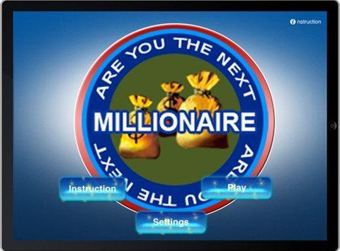 Are you next millionare