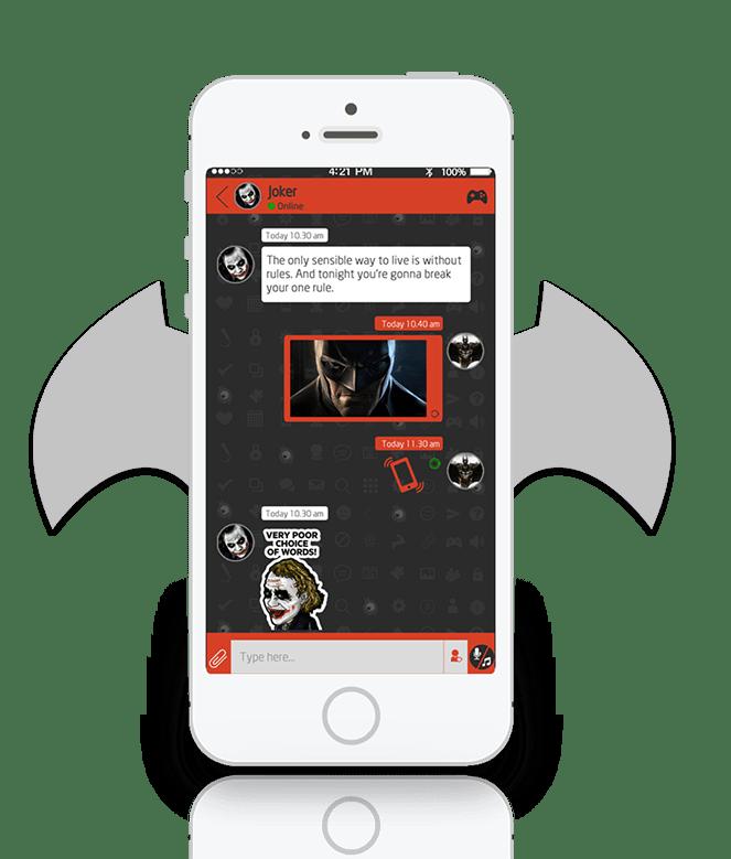 Freak-Gaming-and-Messaging-app2