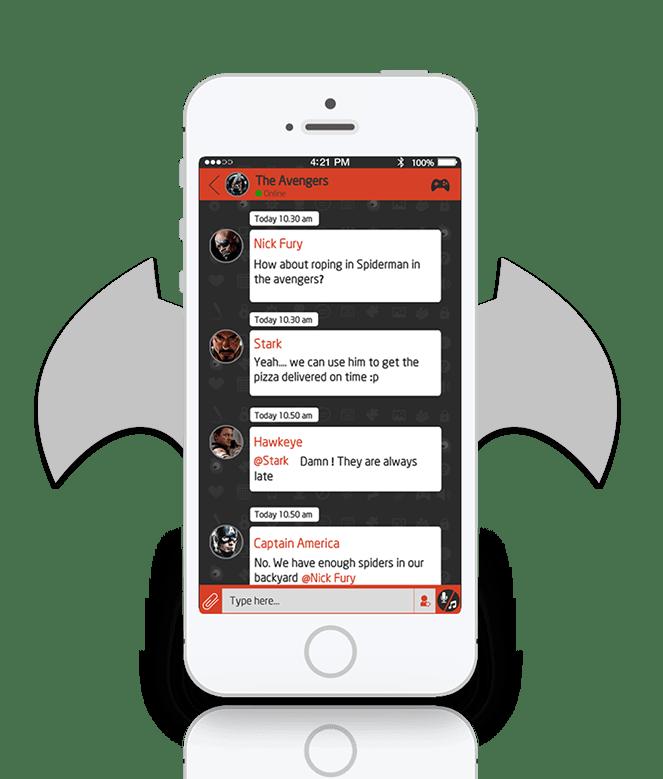 Freak-Gaming-and-Messaging-app3