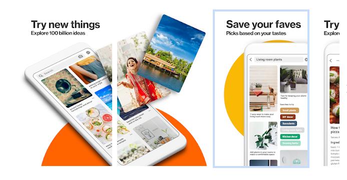 social media app like pinterest app development
