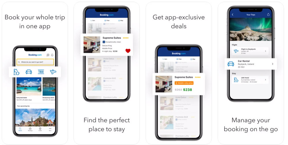 cost to develop booking app