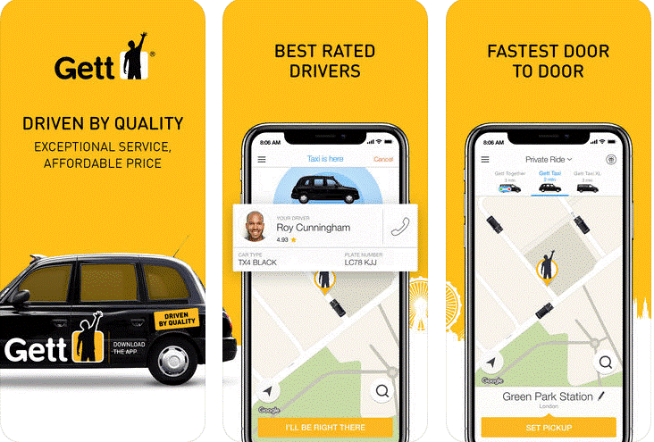Cost Of The Application Like Gett Taxi App